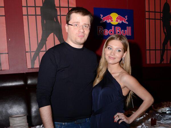 Актриса Кристина Асмус и актер Гарик Харламов