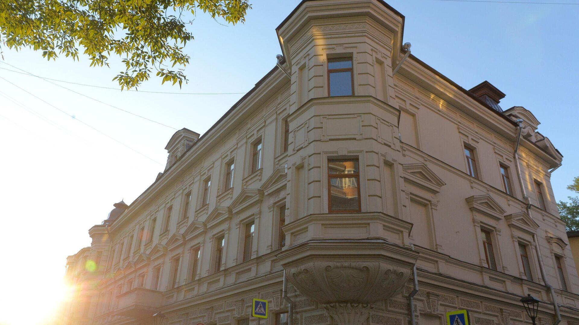 Дом в Большом Харитоньевском переулке в Москве - РИА Новости, 1920, 24.08.2021