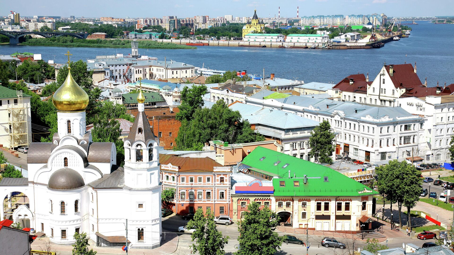 Вид на Нижний Новгород - РИА Новости, 1920, 15.09.2021