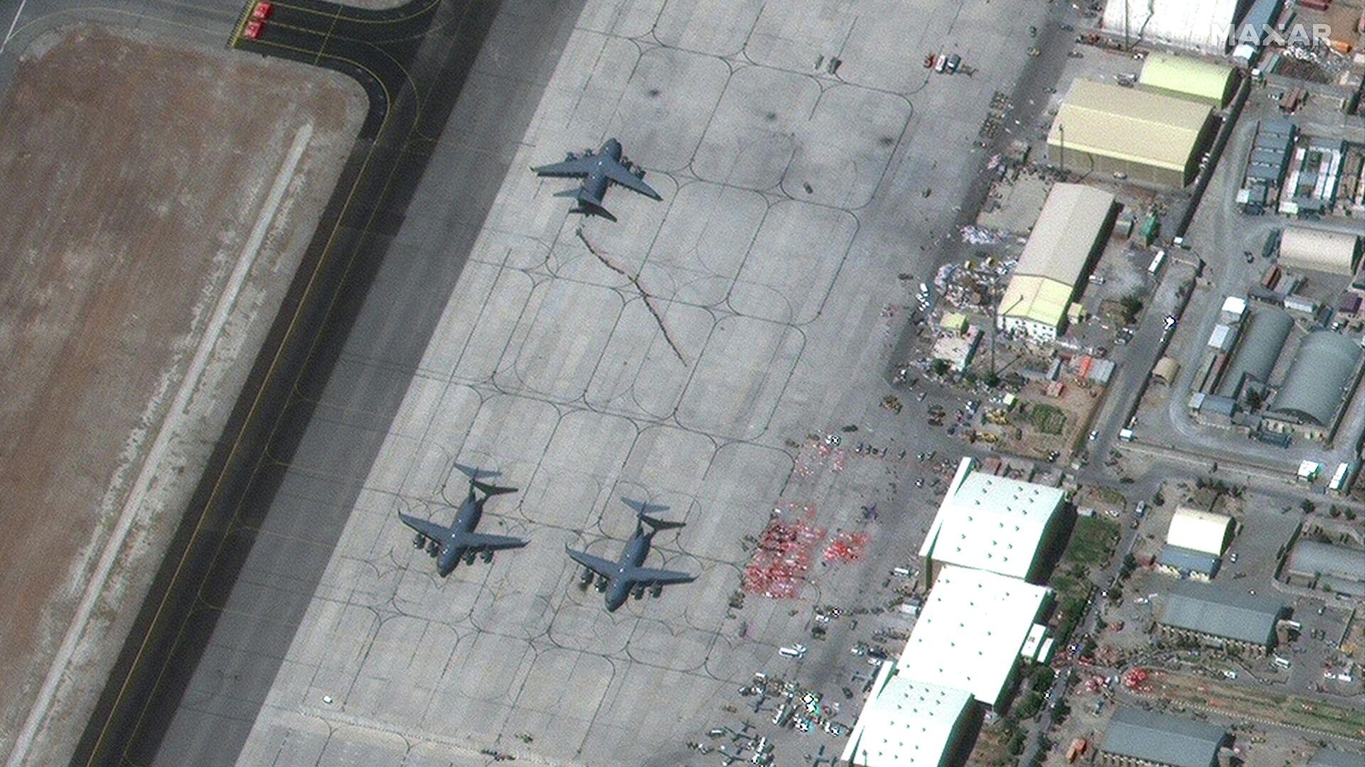 В США заявили, что не контролируют воздушное движение в аэропорту Кабула