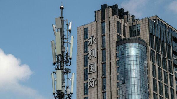 Вышка 5G в Пекине