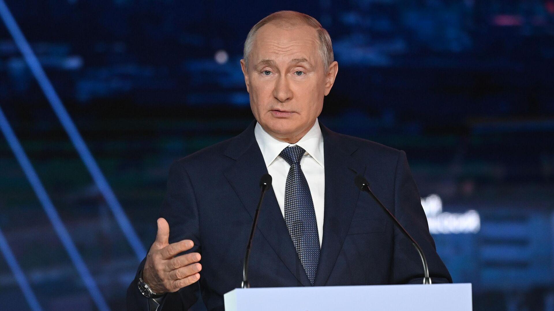 Путин призвал объединить усилия для решения вопроса Афганистана