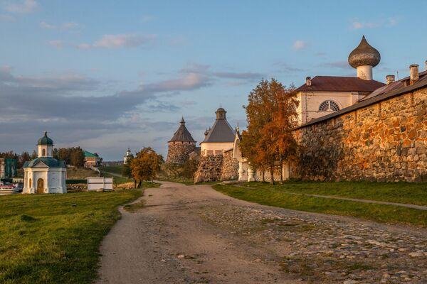 Соловецкий монастырь в Архангельской области