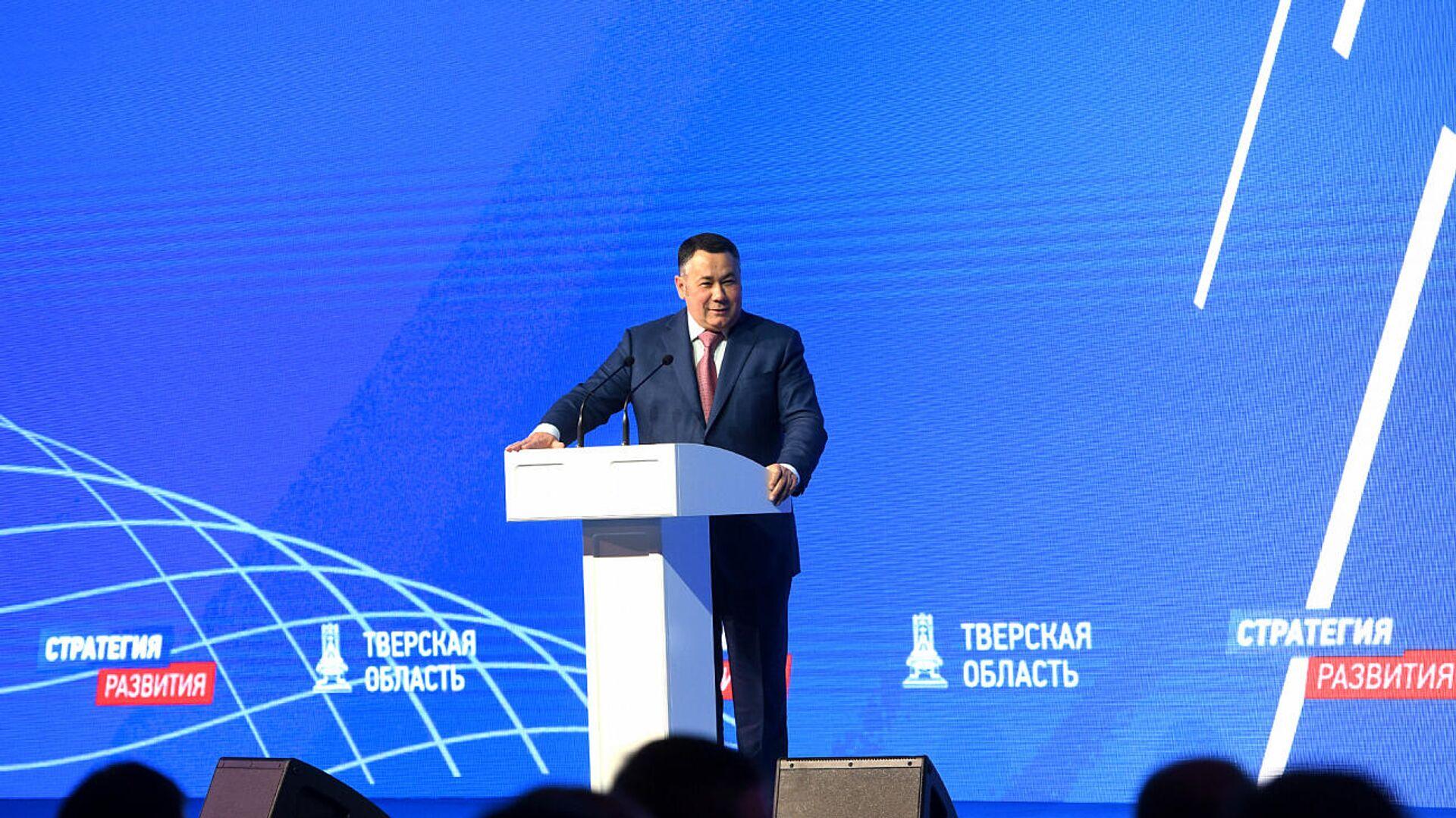 Руденя лидирует на выборах главы Тверской области