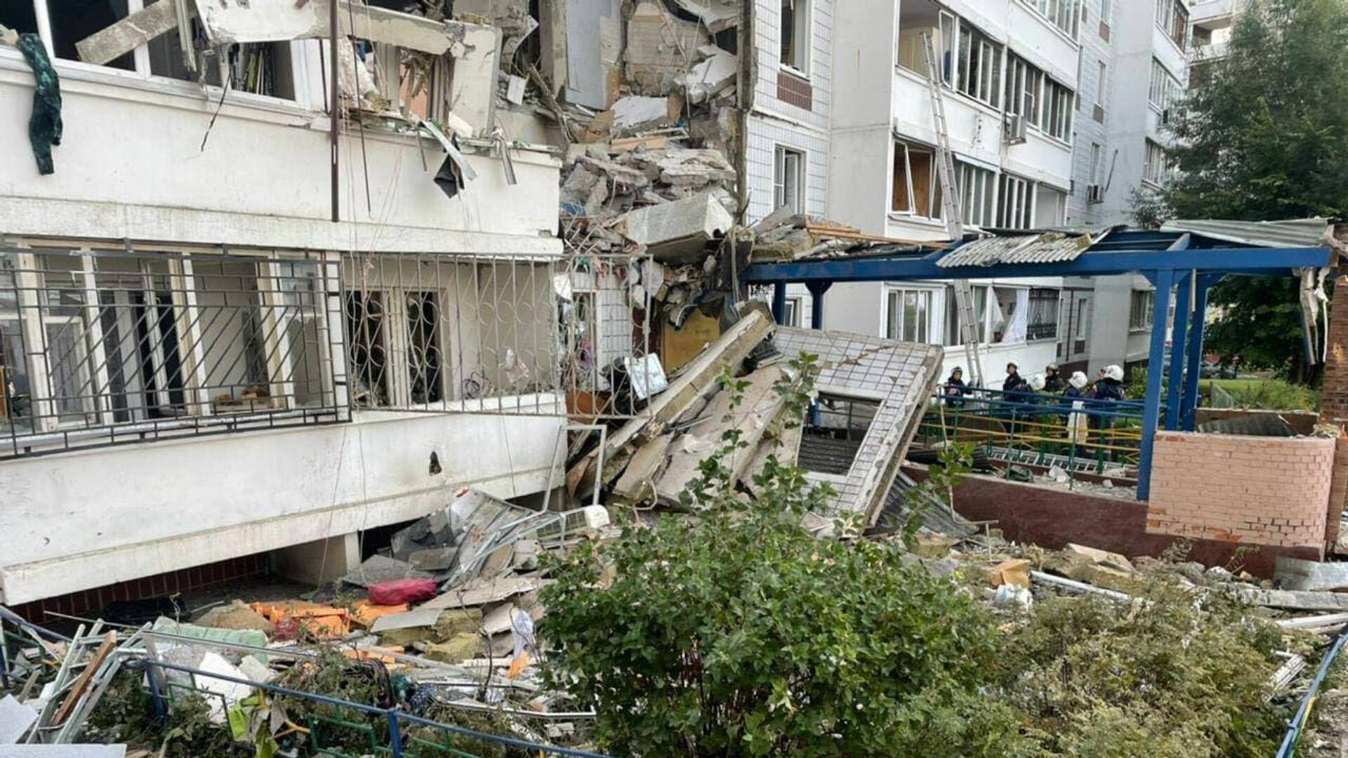 При взрыве газа в Ногинске погибли два человека