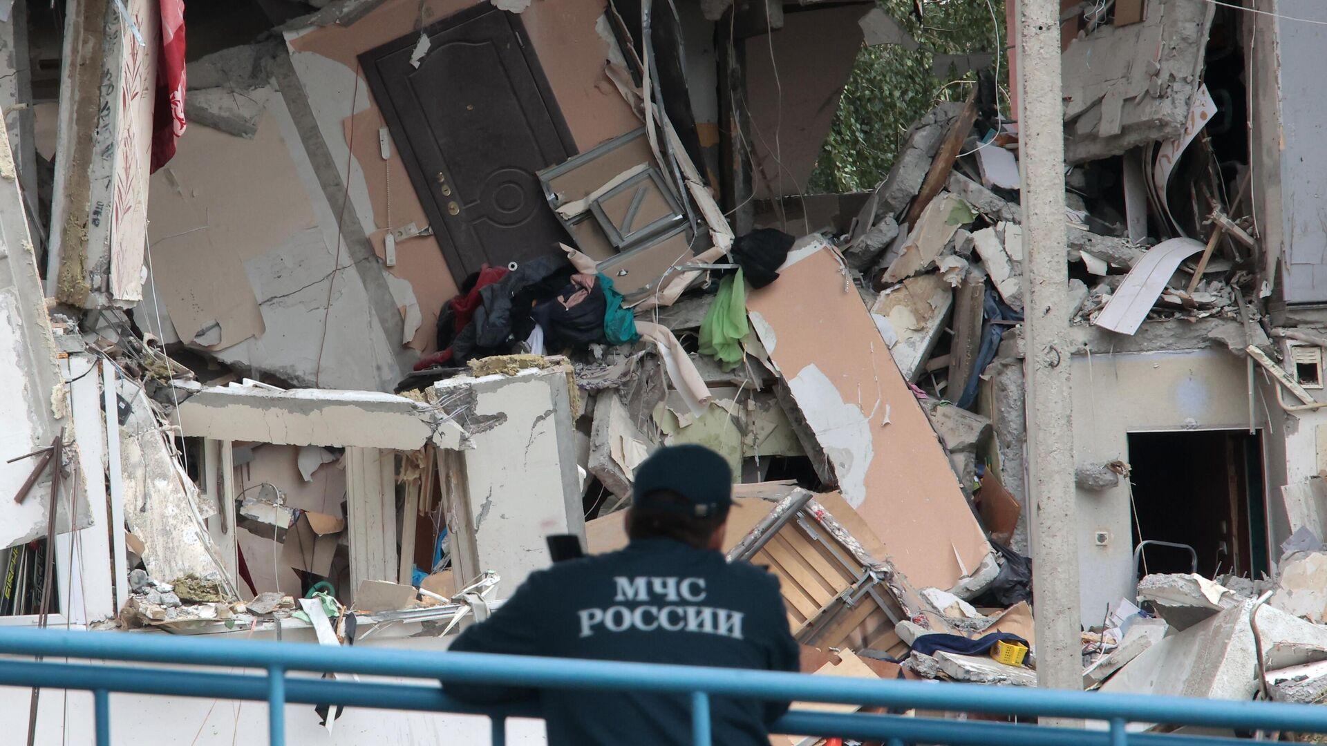 Число погибших при взрыве газа в Ногинске выросло до четырех человек