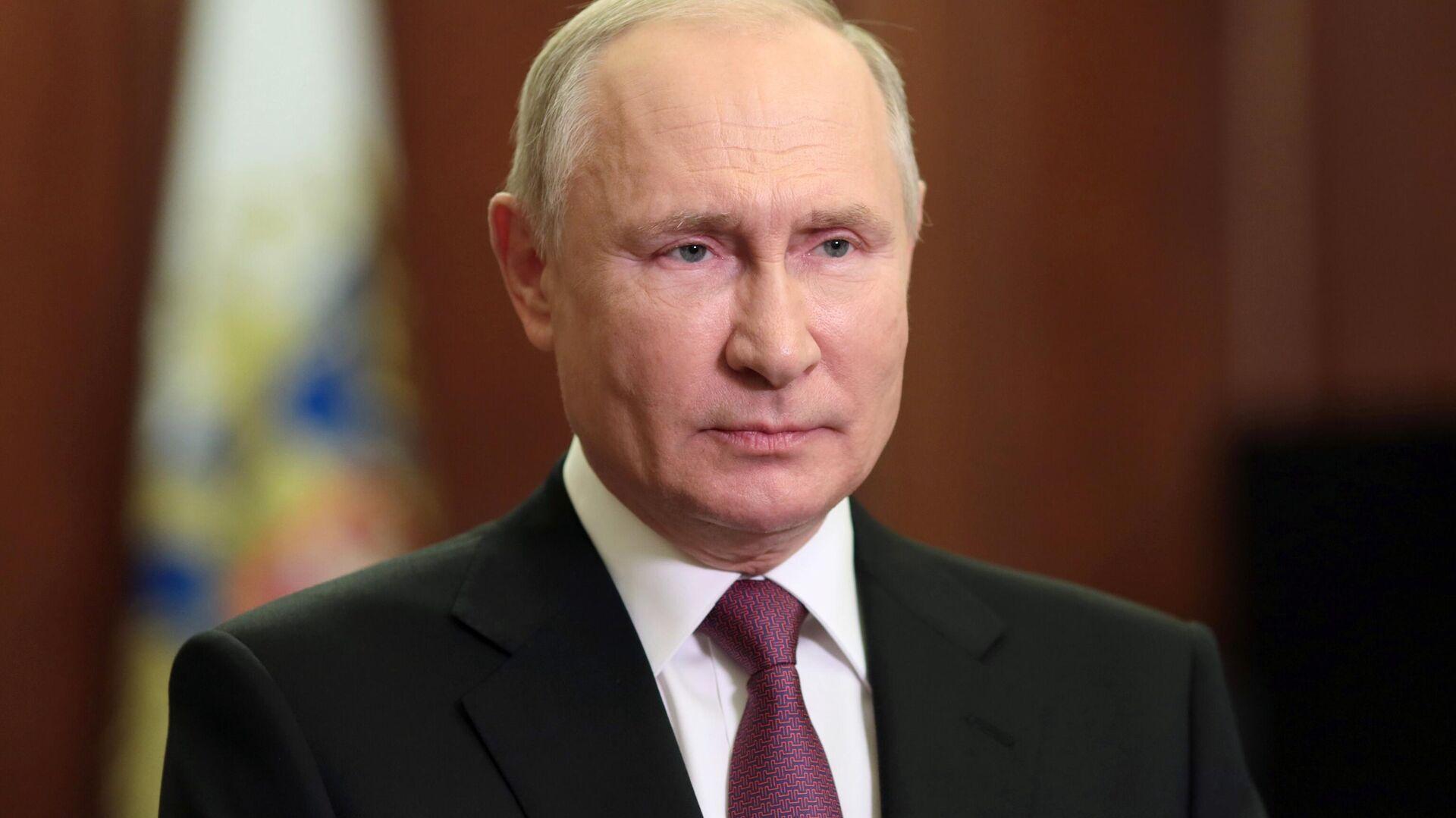 Президент РФ Владимир Путин - РИА Новости, 1920, 11.09.2021