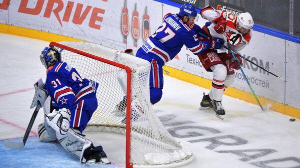 Хоккей. КХЛ. Матч СКА – Автомобилист