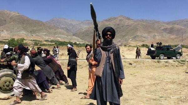 Талибы* в провинции Панджшер