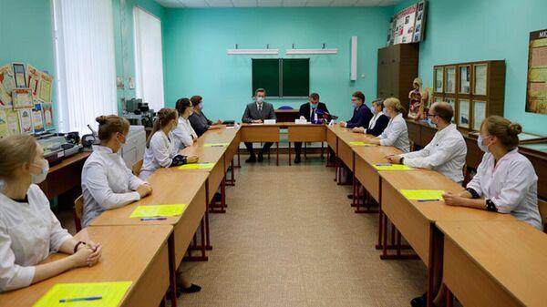 Студенты заключают договора на целевое обучение