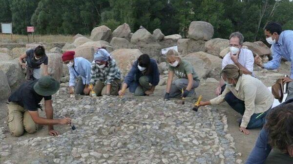 Древнейшая в мире мозаика, найденная на кургане Ушаклы