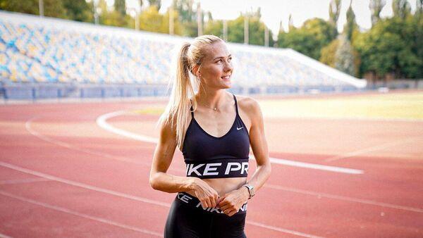 Украинская легкоатлетка Виктория Ткачук.