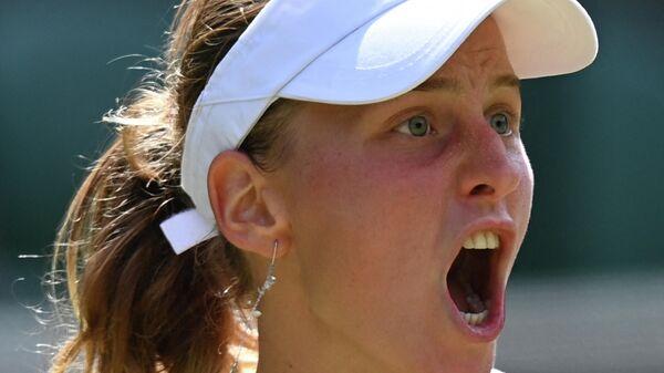 Теннисистка Людмила Самсонова (Россия)
