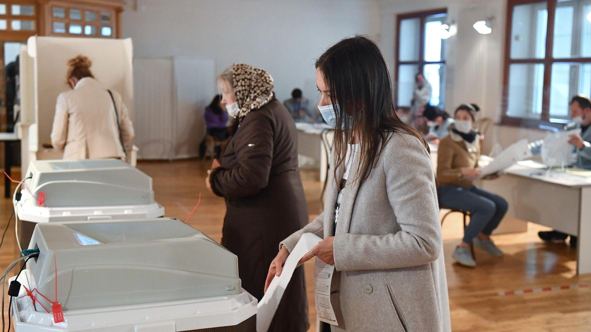 Явка на выборах в России на 18:00 составила 45,15 процента
