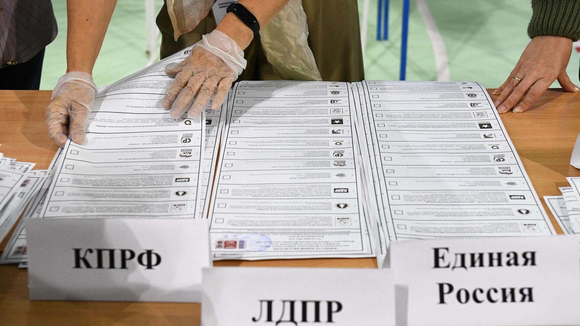 ЕР лидирует на выборах в Госдуму в Калининградской области