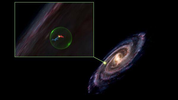 Астрономы обнаружили в космосе гигантскую сферическую полость