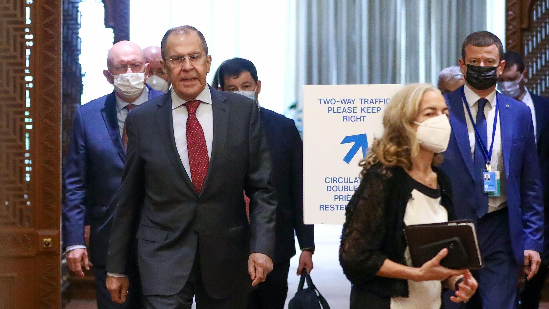 МИД раскрыл детали переговоров Лаврова и Борреля