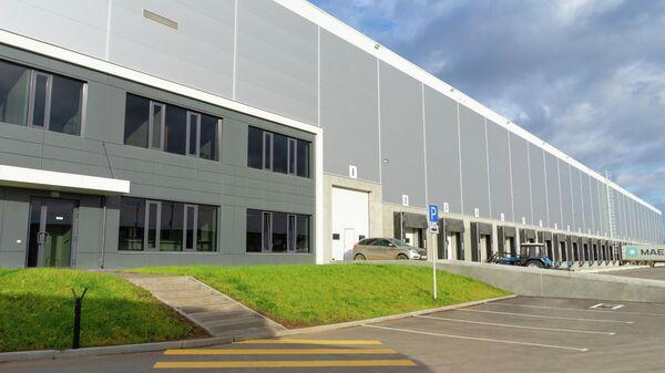 Проект склада в индустриальном парке Березовский под Екатеринбургом