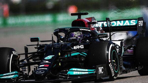 Автоспорт. Формула 1. Гран-при России. Свободные заезды. Первая сессия