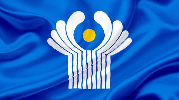 Флаг Содружества Независимых Государств