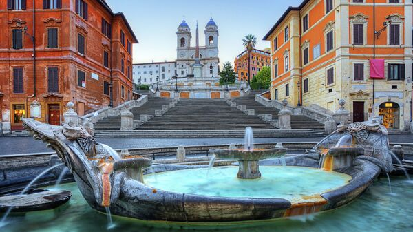 Испанские ступени в Риме