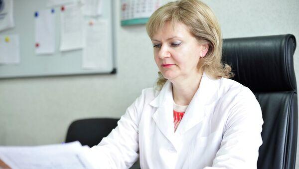 Замдиректора по науке Новосибирского НИИ туберкулеза Татьяна Петренко, архивное фото