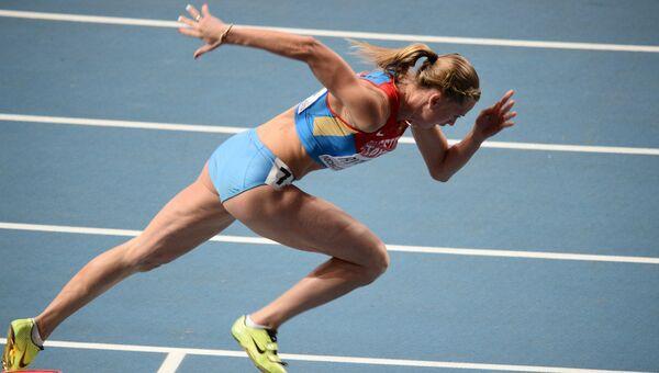 Легкая атлетика.Ксения Рыжова. Архивное фото.