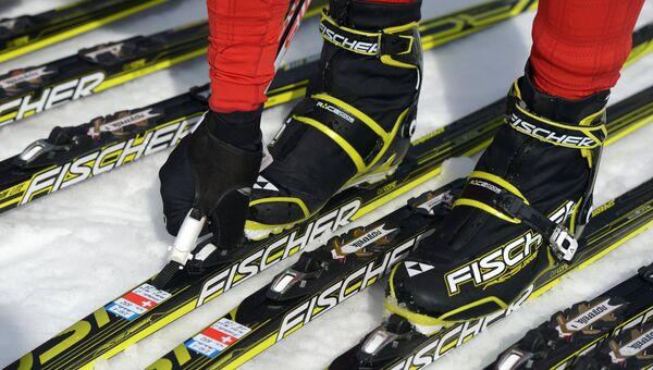 Лыжные гонки. Архивное фото