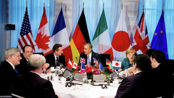 Заседание лидеров G7. Архивное фото