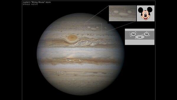 Микки Маус на Юпитере