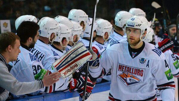 Металлург победил Сибирь и стал первым полуфиналистом Кубка Гагарина