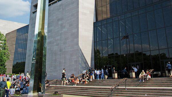 Национальный музей авиации и космонавтики Смитсоновского института в Вашингтоне