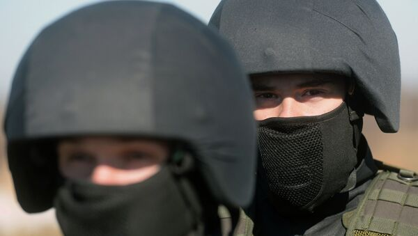 Комплексные занятия МВД России. Архивное фото