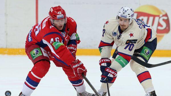 Илья Любушкин (слева) и Роман Червенка. Архивное фото