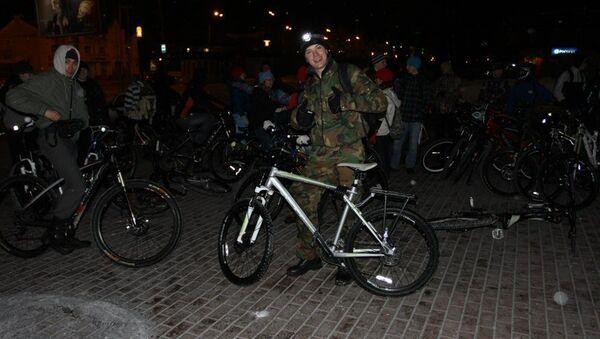Велопробег, посвященный Часу Земли, в Томске, Архивное фото