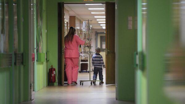 Детское онкологическое отделение городской больницы №31 в Санкт-Петербурге
