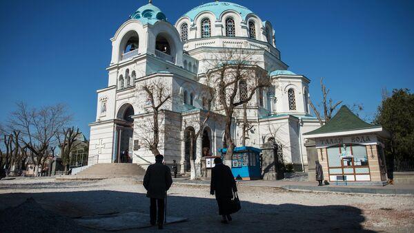 Города России. Евпатория. Архивное фото