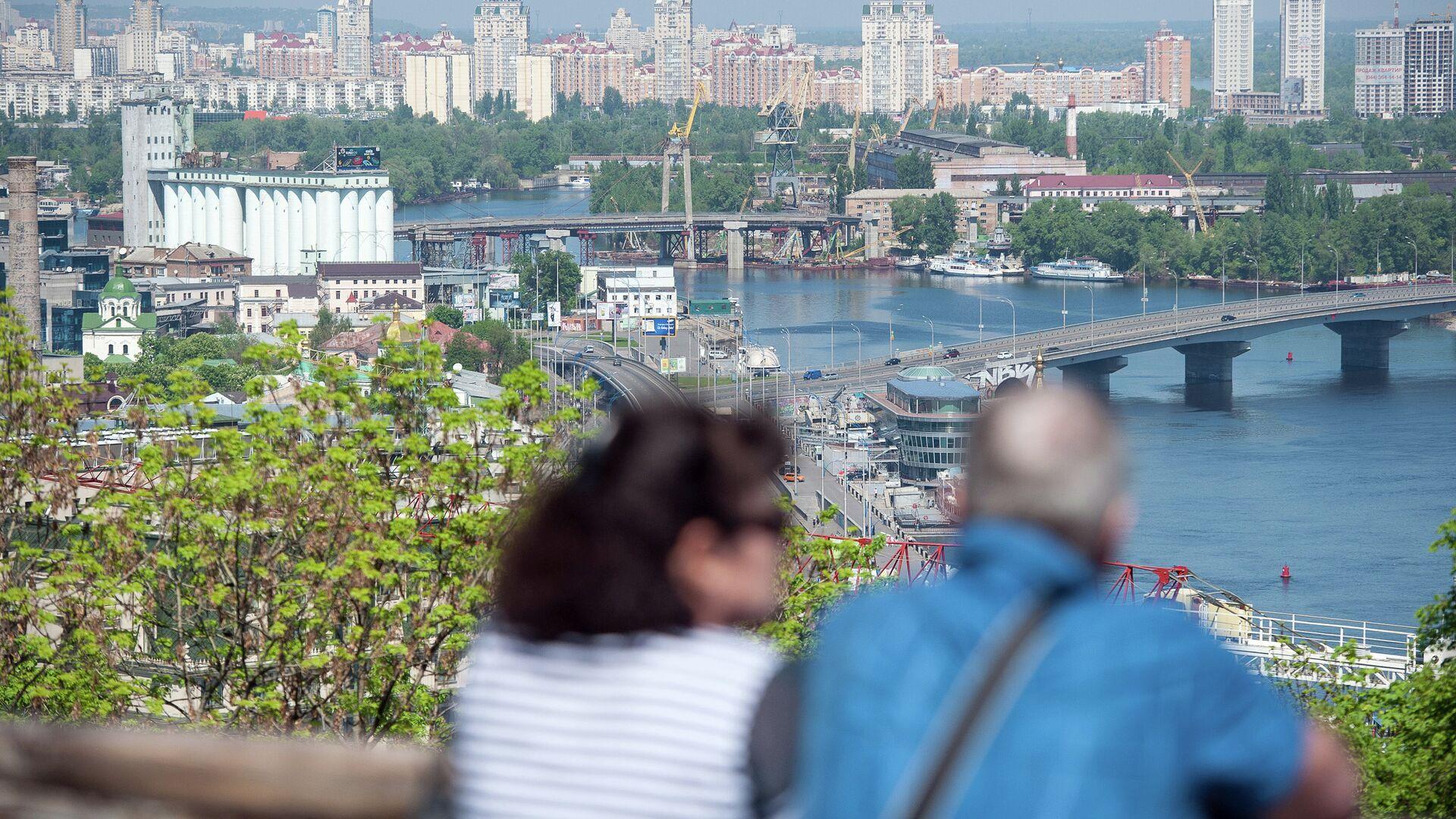 Панорама Киева из парка Владимирская горка - РИА Новости, 1920, 31.03.2021