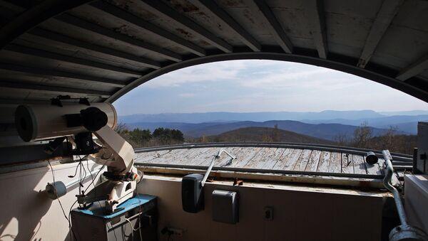 Крымская астрофизическая обсерватория. Архивное фото