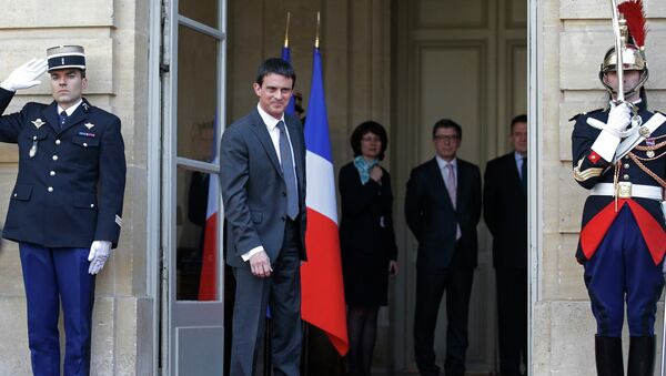 Премьер-министр Франции Мануэль Вальс. 1 апреля 2014