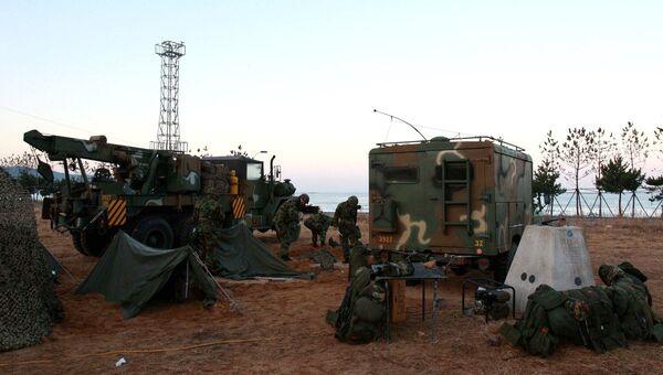 Военный полигон на западе Южной Кореи. Архивное фото