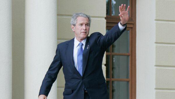 Джордж Буш младший, 43-й президент США. Архивное фото