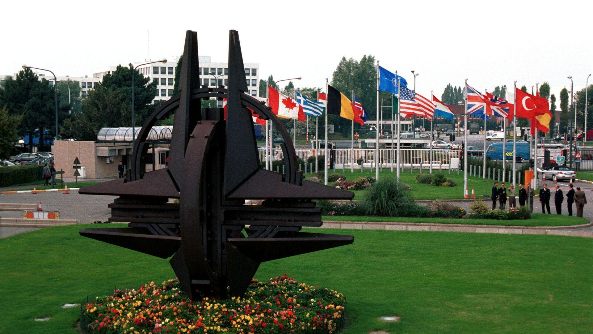 Штаб-квартира НАТО в Брюсселе - РИА Новости, 1920, 14.06.2021
