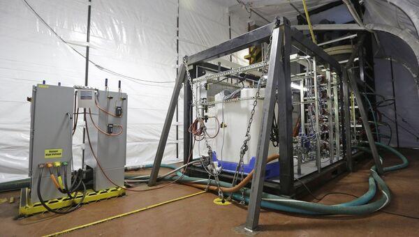 Установка для уничтожения химического оружия на американском корабле Cape Ray