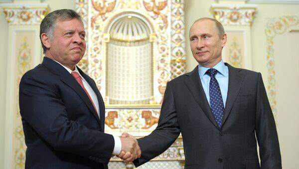 Владимир Путин и король Иордании Абдалла II. Архивное фото