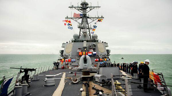 Эсминец ВМС США Donald Cook
