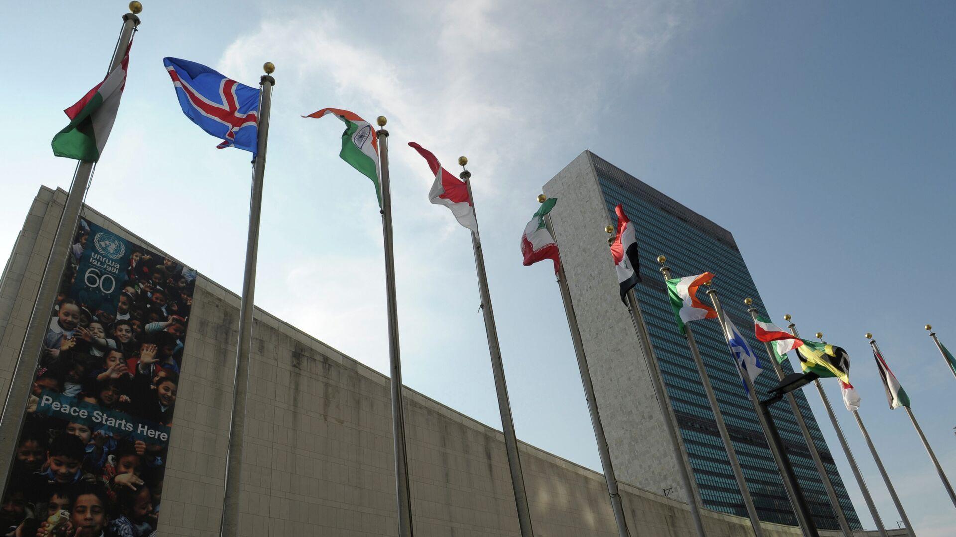 Здание ООН в Нью-Йорке - РИА Новости, 1920, 25.02.2021
