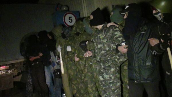 Ситуация в Мариуполе 17 апреля 2014