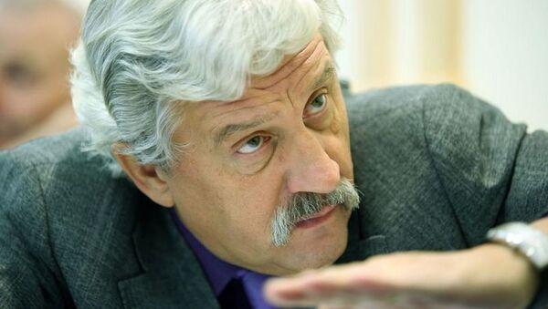 Вячеслав Новицкий на собрании Законодательной думы Томской области