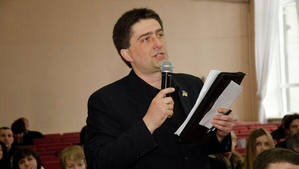 Депутат Горловского городского совета от партии Батькивщина Владимир Рыбак
